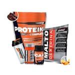 Kit New Millen - Protein Complex + Dextrose + Creatine + BCAA + Coqueteleira