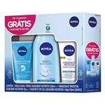 Kit Nivea Hidratante Protetor 50g + Tonico 200ml + Sabonete Nutritivo 150ml