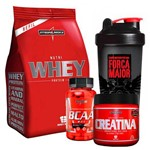 Kit Nutri Whey Refil (907g) Chocolate + Bcaa 2:1:1 (90caps)