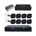 KIT NVD Intelbras IP + 8 Câmeras VIP 1120 B + Switch e Acessórios