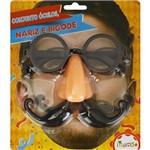 Kit Oculos + Nariz + Bigode Brink
