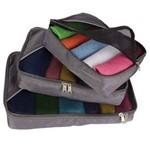 Kit Organizador Luxcel Or00001lx Cinza