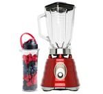 Kit Osterizer Vermelho - Liquidificador e Jarra Blend N Go - 127V