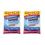 Kit 3 Oxigenco Tratamento Semanal Oxidante Genco para Piscinas
