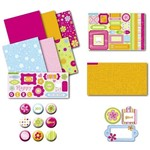 Kit P/Scrapbook Completo Meninas Sca2103v Tec