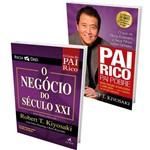 Kit Pai Rico, Pai Pobre Edição de 20 Anos Atualizado e Ampliado + Pai Rico o Negócio do Século XXI