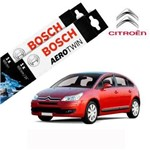 Kit Palheta Limpador C4 Hatch 2007-2014 - Bosch