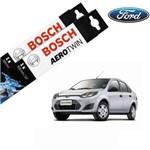 Kit Palheta Limpador Fiesta Sedan 2011-2014 - Bosch