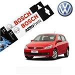Kit Palheta Limpador Gol G5 2013-2016 - Bosch