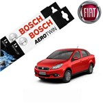 Kit Palheta Limpador Grand Siena 2012-2016 - Bosch