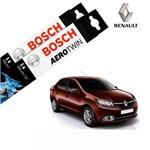 Kit Palheta Limpador Logan 2013-2016 - Bosch