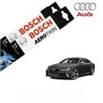Kit Palheta Limpador RS7 Sportback Quattro 2014-2016 - Bosch
