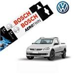 Kit Palheta Limpador Saveiro G5 2013-2016 - Bosch