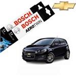 Kit Palheta Limpador Sonic Hatch 2012-2016 - Bosch
