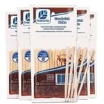 Kit Palitos para Sandwich Picks 6 Pacotes com 200un Cada Theoto