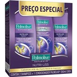 Kit Palmolive Shampoo 350ml + Condicionador 350ml Nutri-Liss Preço Especial
