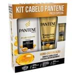 Kit Pantene Hidro-Cauterização Shampoo 400ml + Condicionador 3 Minutos Milagrosos 170ml + Ampola 15ml