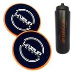 Kit Par de Disco de Deslizamento 17,5cm LS3360 Liveup + Squeeze Automático 1lt