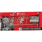 Kit para Banheiro 05 Pç Linha JUNIOR Leão