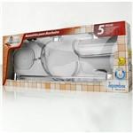 Kit para Banheiro 5 Pcs Expambox Álamo
