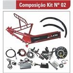 Kit para Bicicleta Elétrica de 800W com Quadro
