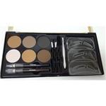 Kit para Olhos e Sobrancelhas Brown e Black Fenzza