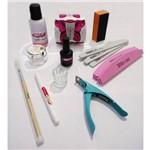 Kit para Unha Acrílica Lixas Ultrabond Monomer Pincel