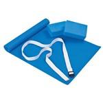 Kit para Yoga Azul Mor