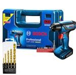 Kit Parafusadeira/Furadeira Bateria + Maleta GSR1000 - Bosch + Jg Brocas - MTX