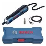 KIT Parafusadeira GO Sem Fio 3.6V Bosch + Kit de Bits Parafusadeira 18 Peças B-28896 - Bosch