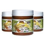 Kit Pasta Amendoim 3 Unidades - Mel, Cacau e Coco - 500g - Thiani