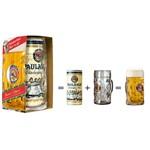 Kit Paulaner Oktoberfest com 1l de Cerveja + 1 Caneca de 1l (Alemanha)