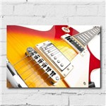 Kit Placa Decorativa MDF Guitarra 4 Unidades