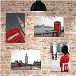 Kit Placa Decorativa Mdf Londres