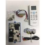 Kit Placa Eletronica Universal Ar Condicionado Split Hi Wall e Piso Teto 07 09 12 18 22 24 30 36 48