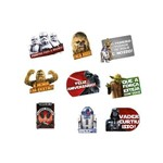 Kit Plaquinhas Star Wars Clássico - 09 Unidades