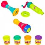Kit Play-Doh Ferramentas - Molde-Carimbo-Trançador - Hasbro