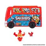 Kit Playset com Estojo e Mini Figuras Surpresas - Smashers - Candide