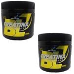 Kit 2 Potes Creatina Monohidratada 200g Nutrivale