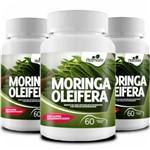 Kit 3 Potes Moringa Oleifera 180 Capsulas de 500mg Nutrivale