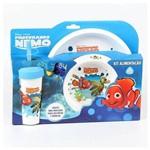 Kit Prato Gr Bowl Copo com Canudo Procurando Nemo - 01569 - Baby Go