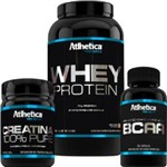 Kit Pro Series - Whey + Creatina + Bcaa - Atlhetica