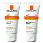 Kit Proteção Solar Facial Anthelios Ac Fps 60 50g C/ 2 Unidades