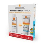Kit Proteção Solar Facial Anthelios Fluide Fps 60 125ml + Dermo Pediatric