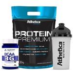 KIT Protein Premium (1,8kg) + BCAA 3g + Shakeira