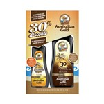Kit Protetor Solar Australian Gold Spray Gel FPS 30