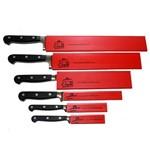 Kit Protetores de Facas Vermelho - Professional Cheff