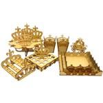 Kit Provençal Desmontado Coroa Realeza 14 Peças