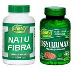 Kit Psylliumax e Natu Fibra Fibras e Algas Unilife
