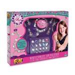 Kit Pulseira Pingentes Coleção Desejos - Fun Toys